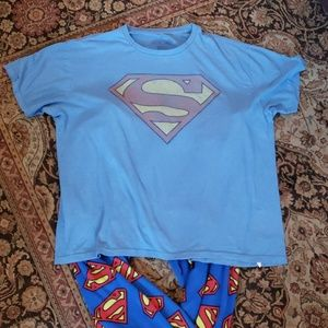 Gap DC Comics Superman pajama bundle